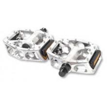 Pedales V.P. BMX aluminio plata