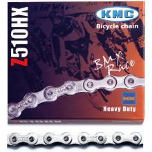 Cadena KMC 510_HX BMX- Spining 112 Pasos Cromada