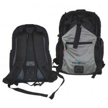 Mochila Freepack Sport negro/plata,30x40x20cm, 24 ltr, 1200g
