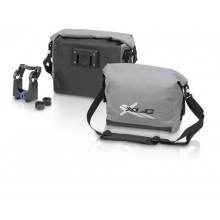XLC bolsa manillar BA-W18 negro/gris, impermeable