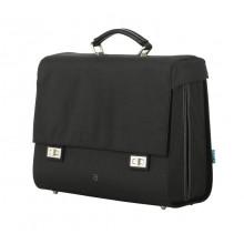 Bolsa única Around Comfort negro, 38x18x32 cm