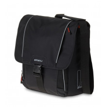 Bolsa hombros Sport Design Computer Bag negro, 18 l.
