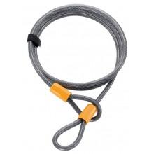 Cable antirrobo sistema entrelazado Onguard Akita 8043 220 cm Ø 10 mm