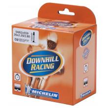 "Cámara Michelin C6 Downhill Racing 26"" 2.20-2.80 54/62-559, VP 40 mm"