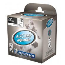 "Cámara Michelin C5 Aircomp Mountain 26"" 2.20-2.80 54/62-559, VP 40 mm"
