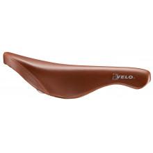 Sillin singlespeed Velo VL1369 piel marrón