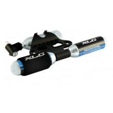 XLC Bomba de cartucho-CO2 PU-M03 incluido 3 x 16 g cartuchos de recambios
