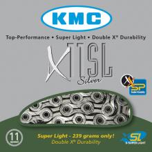 CADENA KMC X11 SL PLATA 112 11 V