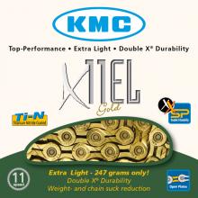 CADENA KMC X11 EL ORO 112P 11V