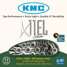 CADENA KMC X11 EL PLATA 112 11 V
