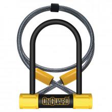 Antirrobo U Onguard con soporte Bulldog Mini + cable 8015 90 x 140 Ø 13 mm